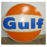 6FT. PLASTIC GULF INSERT SIGN