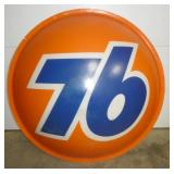 5FT. PLASTIC BUBBLE EMB. 76 SIGN