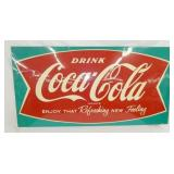 62X32 COKE FISHTAIL SIGN