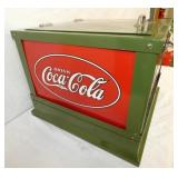 VIEW 3 LEFTSIDE GLASCOCK COKE COOLER