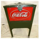 18X39 COCA COLA GLASCOCK COOLER