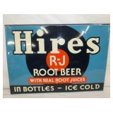 19X28 EMB. HIRES ROOT BEER SIGN