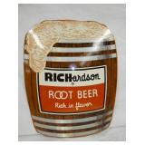 21X26 RICHARDSON ROOT BEER KEG SIGN