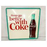24X24 COCA COLA SIGN W/BOTTLE