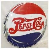 VIEW 2 PORC 42IN. PEPSI CAP SIGN