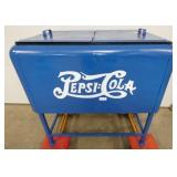EARLY 32IN. PEPSI COLA ICE COOLER