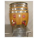 24X30 ORG COCA COLA BARREL DISPENSER