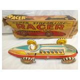 VIEW 2 MARX RACER W/ ORIG. BOX