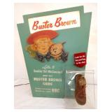 19X26 BUSTER BROWN SHOE DISPLAY