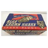 NOS BLUE CROWN HUSKY SPARK PLUGS