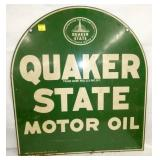 26X30 1965 OUAKER STATE TOMBSTONE SIGN