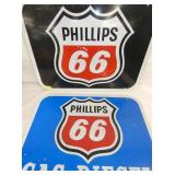 VIEW 2 PHILLIPS 66 ROAD SIGNS