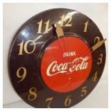VIEW 2 17IN. COKE CLOCK