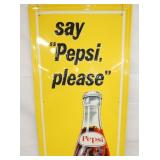 VIEW 2 TOP VERTICAL PEPSI SIGN