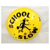 VIEW 2 SCHOOL ZONE COKE BUTTON SIGN