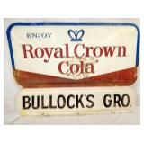 52X38 BUBBLE EMB ROYAL CROWN COLA SIGN