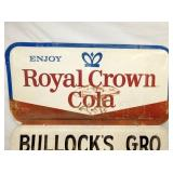 VIEW 2 ROYAL CROWN COLA SIGN