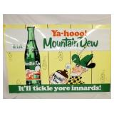 59X38 EMB MT. DEW WILLY SIGN