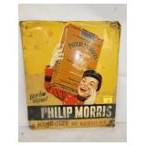 12X14 EMB PHILLIP MORRS SIGN