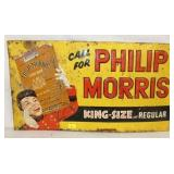 27X15 EMB PHILLIP MORRIS SIGN