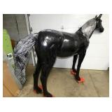 VIEW 4 BACKSIDE CAST ALUM. HORSE