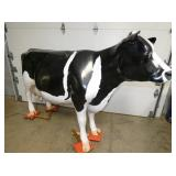 7FT(L)X57IN.(T) CAST ALUM COW