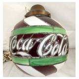 14IN. COCA COLA STAINDED GLASS LIGHT