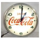 EARLY 22IN. DRINK COCA COLA WALLCLOCK