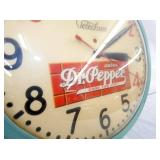 VIEW 3 CLOSE UP DR. PEPPER CLOCK