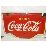 60X38 PORC.  COCA COLA SWINGER SIGN
