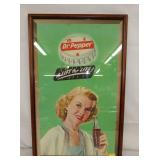 17X26 DR. PEPPER CARDBOARD SIGN
