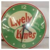 8IN. LIVELY TIMES CLOCK