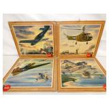 VIEW 4 WARTIME COKE AVIATION CARDBOARDS