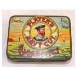 2X5 PLAYERS NAVY CUT CIGARETTE  TIN
