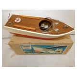 VIEW 2 TOP WOODEN MODEL BOAT