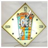 15IN. ICEE LIGHTED CLOCK