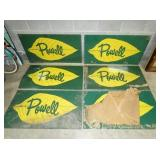 48X25 NOS POWELL TOBACCO SIGNS