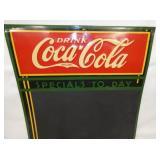 VIEW 2 TOP Coca Cola MENU SIGN