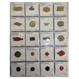 VIEW 5 COLL. OF 100 HIGH POINT TAGS