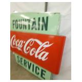 VIEW 6 RIGHTSIDE COKE FOUNTAIN SIGN
