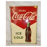 20X27 DRINK COKE ARROW SIGN