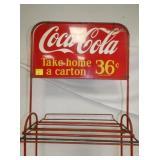 VIEW 4 W/ COKE TAKE HOME CARTON SIGN