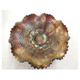 9IN. CARNIVAL PATTERN BOWL