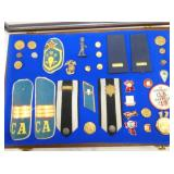 MILITARY BARS/BUTTONS/PATCHES