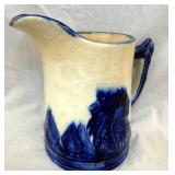 EARLY PITCHER W/ COBALT