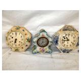 COLLECTION EARLY PARLOR CLOCKS