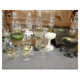 COLLECTION EARLY OIL LAMPS