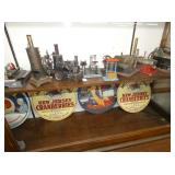 GROUP PICTURE STEAM ENGINE TOYS