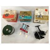 VIEW 2 FISHING REELS W/ ORIG. BOXES