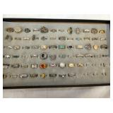 COLLECTION COSTUME JEWELRY RINGS